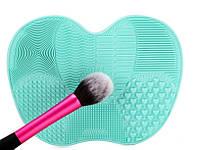 Коврик для чистки макияжных кистей Express Brush бирюзовый