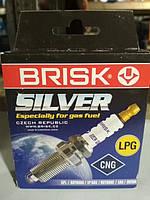 Свечи BRISK DR15 YS Silver(2110 16-ти клап) (к-т)