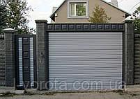Рулонные ворота (стальной профиль 76) ТМ HARDWICK 3500, 2100, фото 2