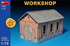 Мастерская. Сборная пластиковая модель здания в масштабе 1/72. MINIART 72022