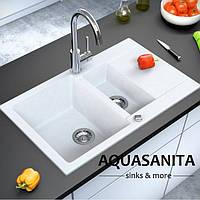 Гранитная мойка AquaSanita ARM Cuba SQC-151 (800х495 мм.)