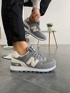 Женские кроссовки New balance 574 grey ( в стиле New balance)