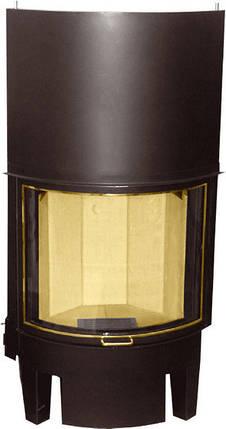 Каминная топка HAJDUK Prisma KR H 510 гнутое стекло, фото 2