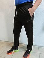 Мужские спортивные штаны Jack Wolfskin 8805 черные код 27б