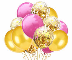 Набор воздушных шаров 012 ( 30 см - 15 шт )