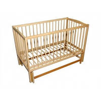 Детская кроватка Антошка, шарнир, бук