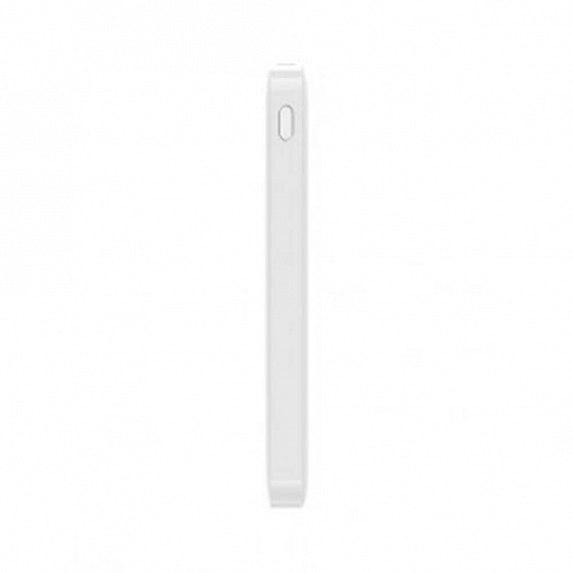 Портативные батареи Xiaomi Redmi 10000mAh White XIAOMI Индикатор уровня заряда Алюминий Universal Белый
