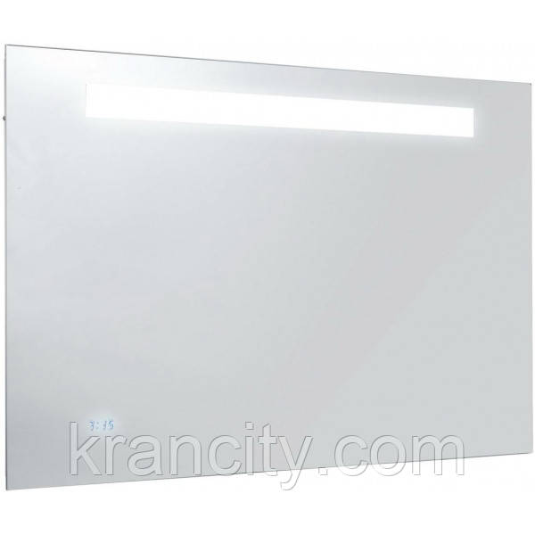 Зеркало для ванной комнаты JACOB DELAFON FORMILIA EB1161-NF (EB1042-NF), 100см. С часами, анти-пар.