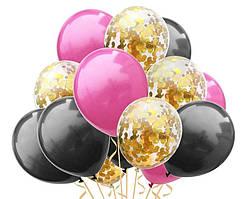 Набор воздушных шаров 014 ( 30 см - 15 шт )