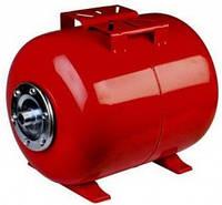 Гидроаккумулятор горизонтальный Насосы + VARNA VAO, 19 л , фото 1