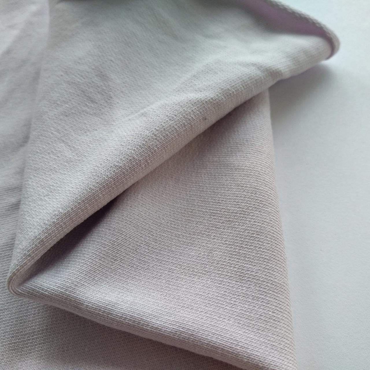 купить ткань футер светло лиловый в нашем магазине