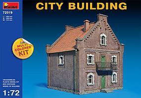Пластиковая модель. Городское здание. 1/72 MINIART 72019