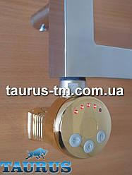 Золотой ТЭН TERMA MEG1 MS Gold с регулятором 30-65C + маскировка провода + LED. Польша 1/2. Мощность 120-1000W