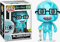 Фигурка Funko Pop Фанко Поп Рик и Морти Доктор Ксенон Блум Dr. Xenon Bloom 10 см SKL38-222916