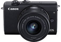 Canon EOS M200 kit (15-45mm) IS STM Black, фото 1