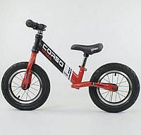 """Беговел """"CORSO"""" 83712 (1) стальная рама, колесо 12"""", надувные колёса"""