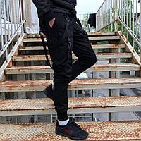 Брюки карго Пушка Огонь Scarstrope черные
