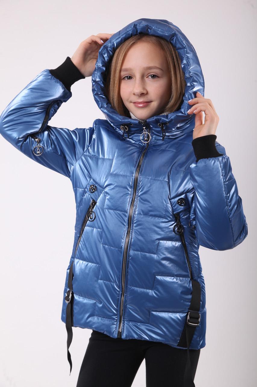 Куртка для девочки на весну 38:40 размер