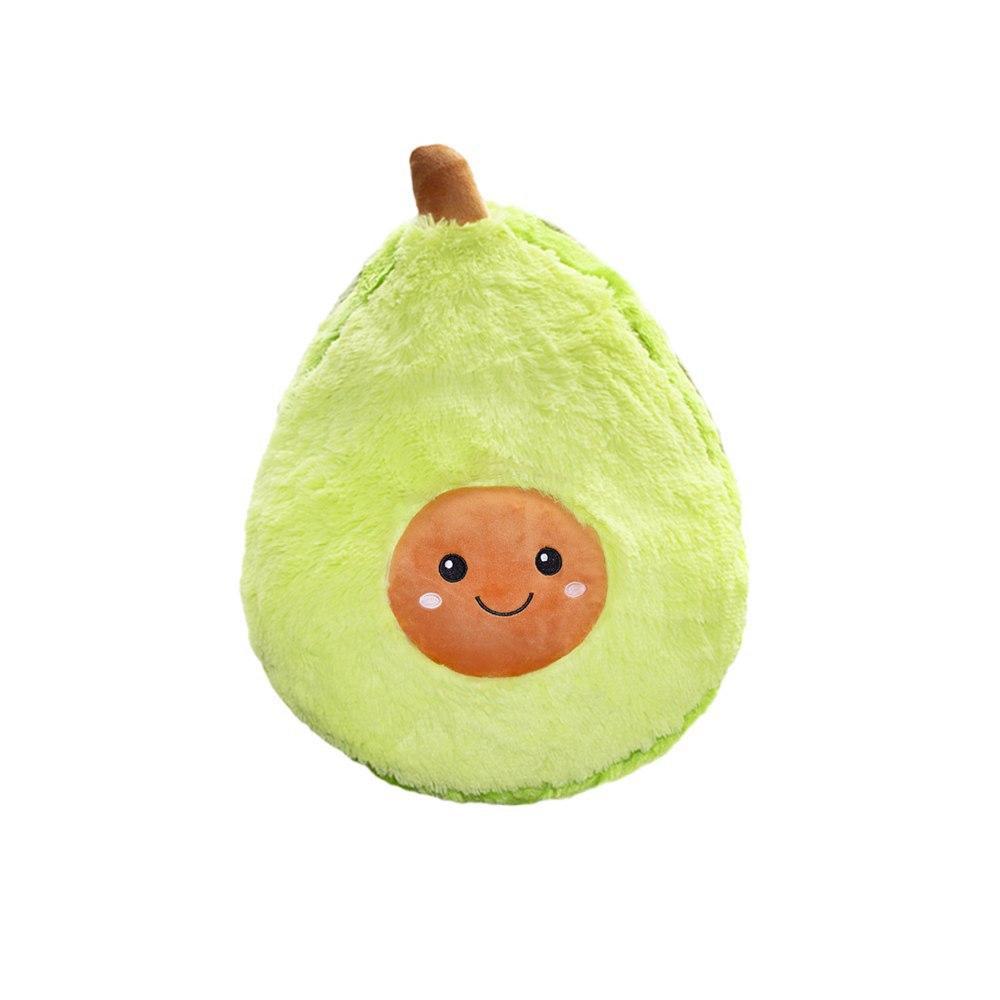 """Мягкая детская плюшевая игрушка """"Авокадо"""" в стиле ИКЕА, подушка-антистресс из флиса 20 cм"""