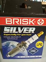 Свечи BRISK LR17 YS Silver (Волга 406 дв.) (к-т)