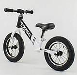 ✅Дитячий велобіг від (беговел) CORSO 10234, сталева рама, надувні колеса, фото 2