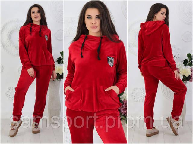 Модные, велюровые женскиеспортивные костюмы. Одежда XL оптом, фото.