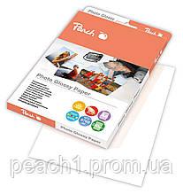 Глянцевая фото бумага Peach А4 | 240 г / м2 | 50 листов