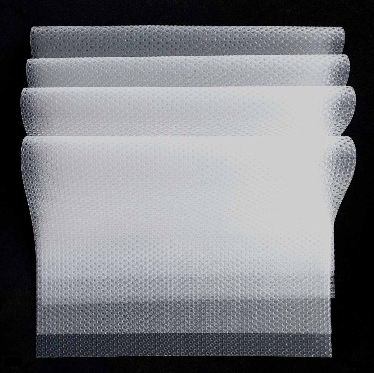 Антибактериальный коврик для холодильника ( набор 4 шт) прозрачный