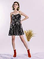 Коктейльное платье бархатное Topshop, размер S/M, арт. 0749-1084