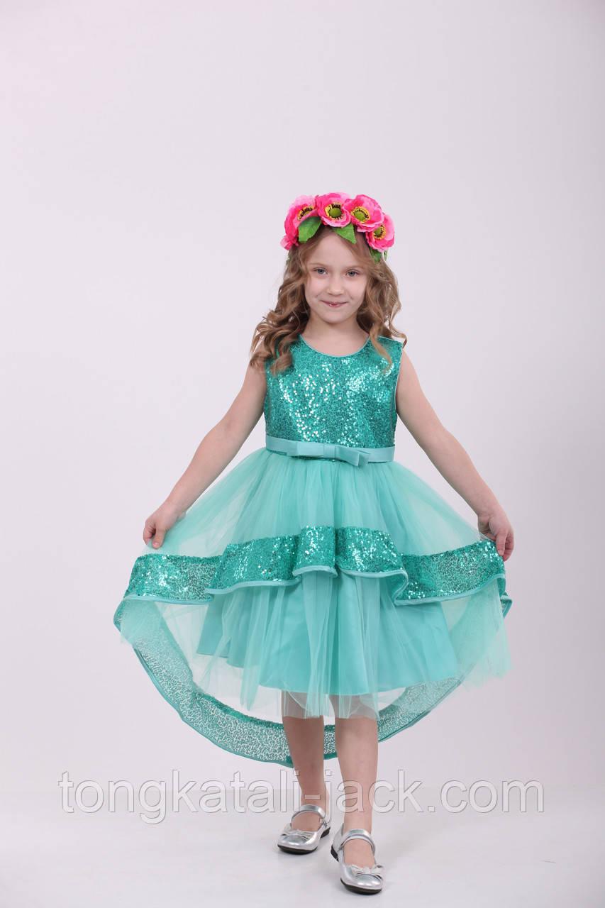Яркое весеннее платье