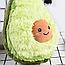 """Мягкая детская плюшевая игрушка """"Авокадо"""" в стиле ИКЕА, подушка-антистресс из флиса 45 cм, фото 5"""