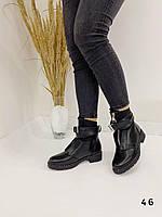 Черевики жіночі чорні