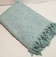 Банное полотенце с кисточками  150*105 см. Турция
