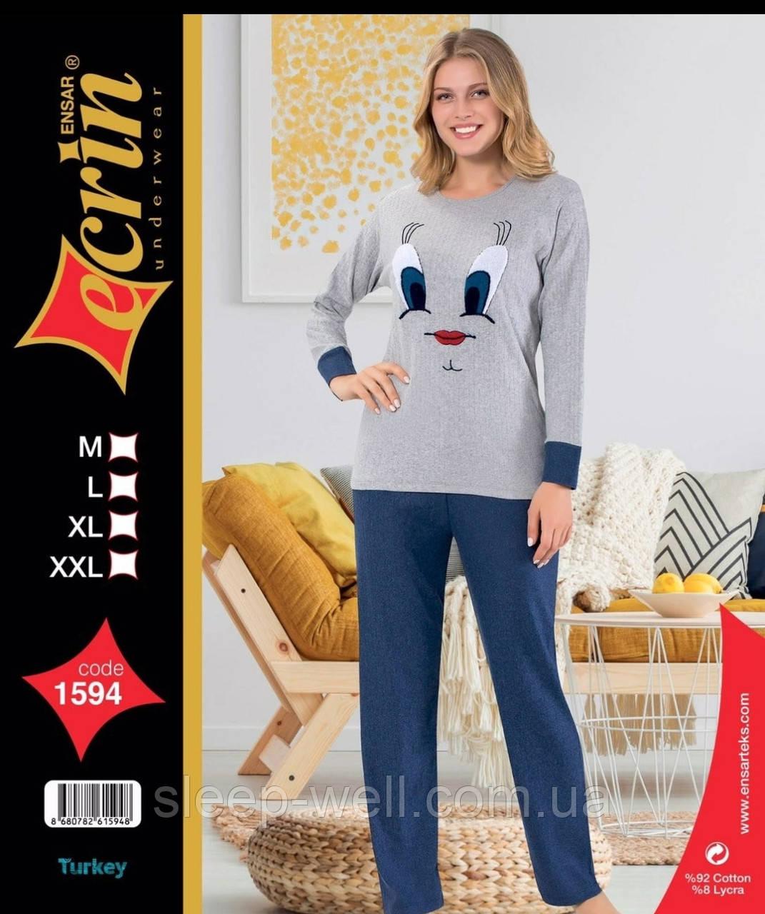 Тёплая пижама, ангора
