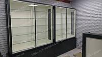 Витрина стеклянная люкс, фото 1