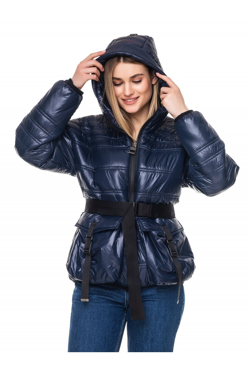 Демисезонная стеганная женская куртка прямого кроя Клара Разные цвета