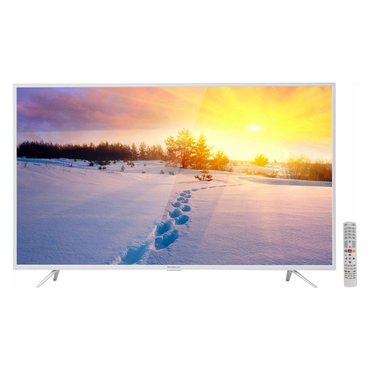 Телевизор Thomson 49UV6206W (4K / SmartTV / 49 дюймов / PPI 1200 / Wi-Fi / DVB-T2/S2/C/T/S)
