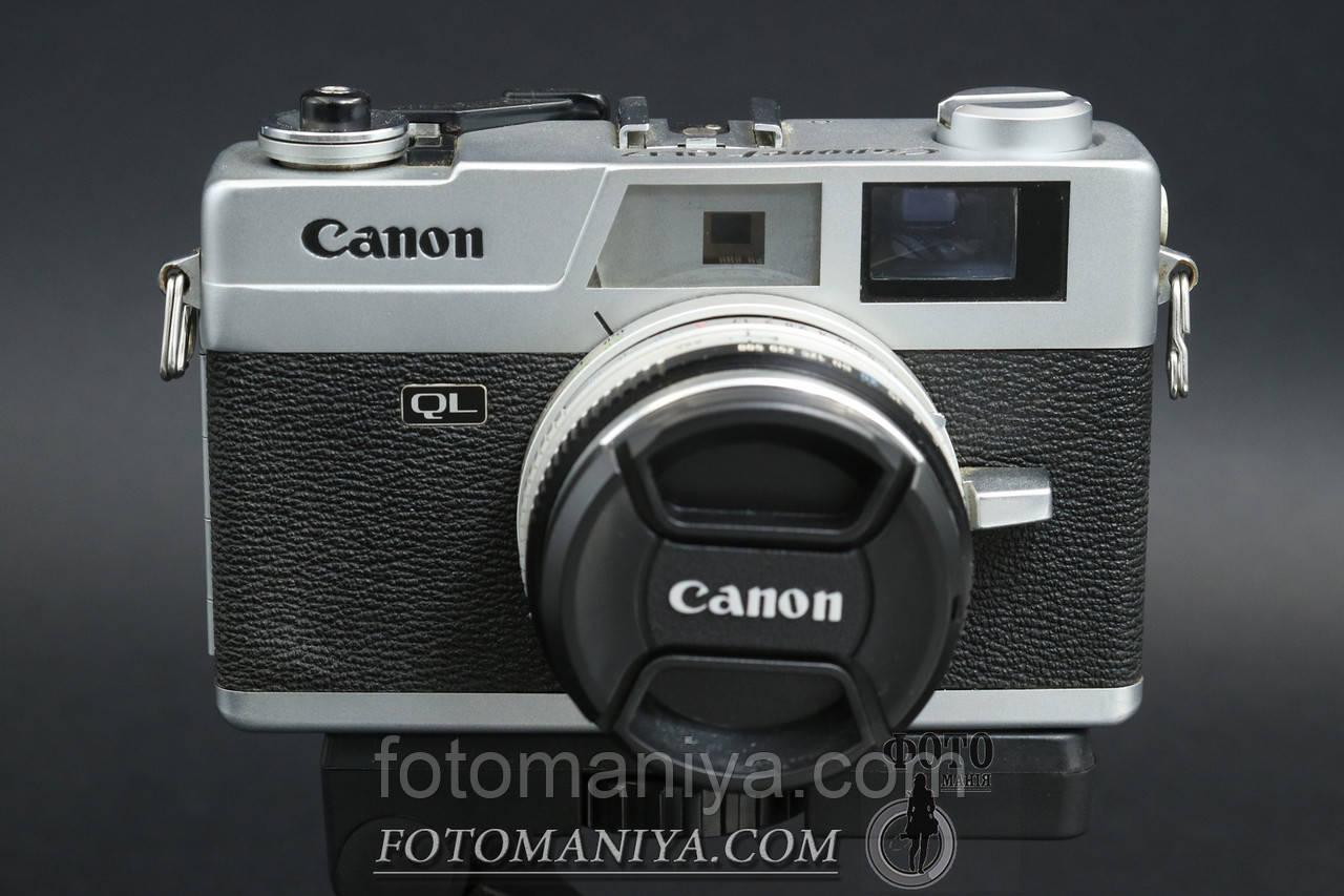 Canon Canonet QL17  Canon Lens 40mm f1,7
