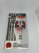 Дротики для игры в электронный дартс Harrows Англия Assassin 80% вольфрама, фото 3