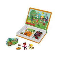 Развивающая игрушка Janod Магнитная книга 4 сезона (J02721)