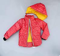 Новинка! Демисезонная куртка для девочки «Moncler» размеры 2-9 лет. Весна/Осень. Цвета в ассортименте.