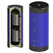 Теплоаккумулятор Werden500 с утеплителем и двумя змеевиками