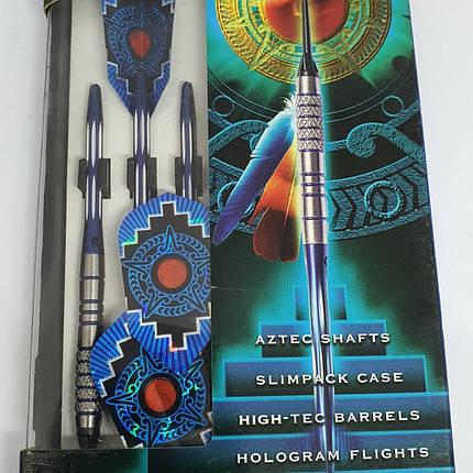 Дартс дротики профессиональные Harrows Aztec Англия 18 грамм из вольфрама, фото 2