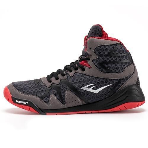 Боксерки EVERLAST PIVT Low Top Boxing Shoes серый/чёрный