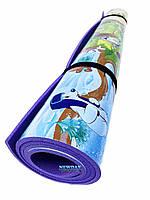 Детский коврик 3000×1200×8мм, «Союз мультфильм», теплоизоляционный, развивающий, игровой коврик.