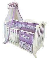 Детская постель Twins Premium P-030 пташки 8 эл. + БЕСПЛАТНАЯ ДОСТАВКА
