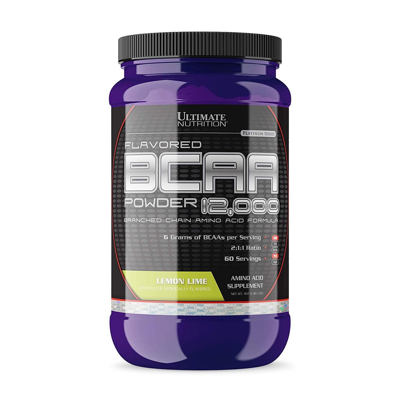 Аминокислоты BCAA 12000 457г Вкус: lemon lime