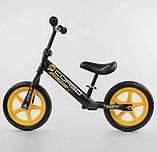 """✅Дитячий велобіг від (беговел) CORSO 15004, сталева рама, колесо 12"""" EVA (ПІНА), фото 2"""