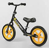 """✅Дитячий велобіг від (беговел) CORSO 15004, сталева рама, колесо 12"""" EVA (ПІНА), фото 3"""