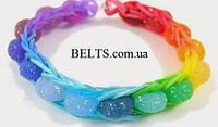 Набор резинок для браслетов Loom Bands, резинки для плетение браслетов Лум Бэндс